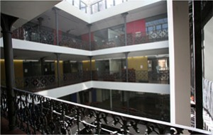 Offices and conference rooms at the Octubre