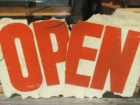 (still) open