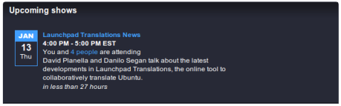 Ubuntu Translations Videocast - Launchpad Translations News