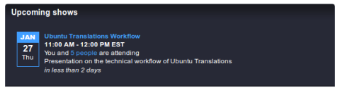 Ubuntu Translations Videocast